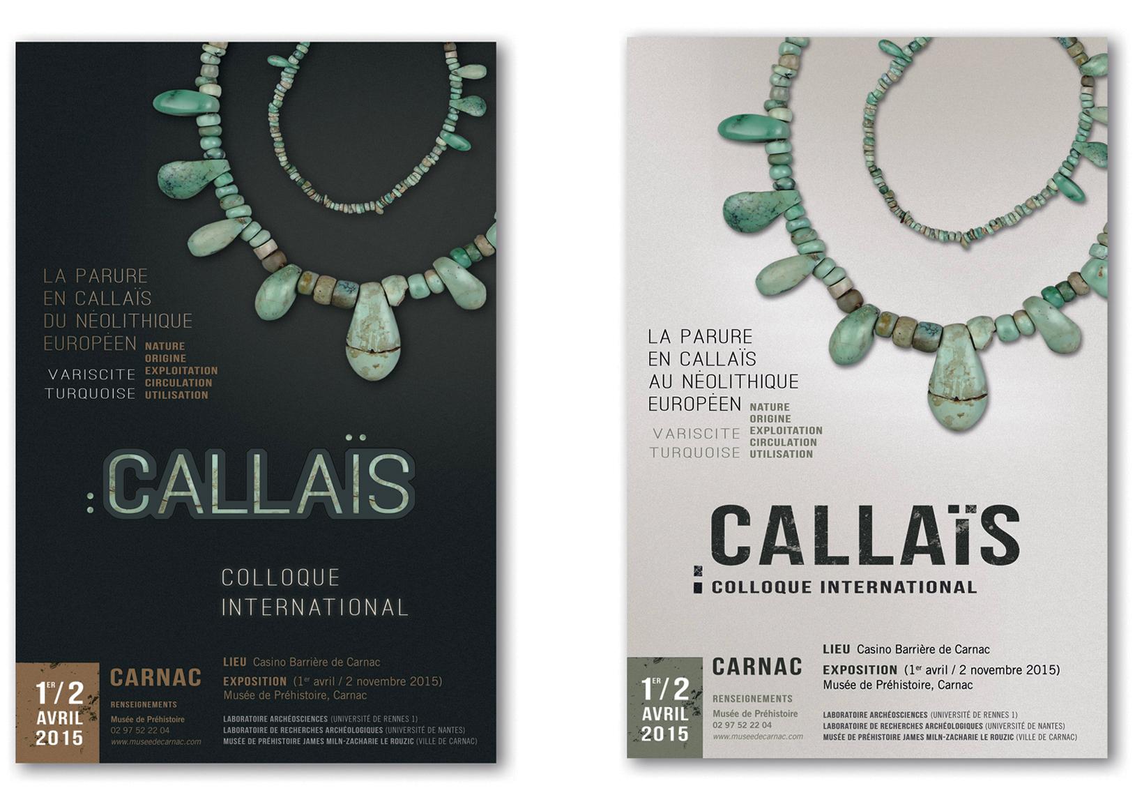 Exposition Callaïs affiches