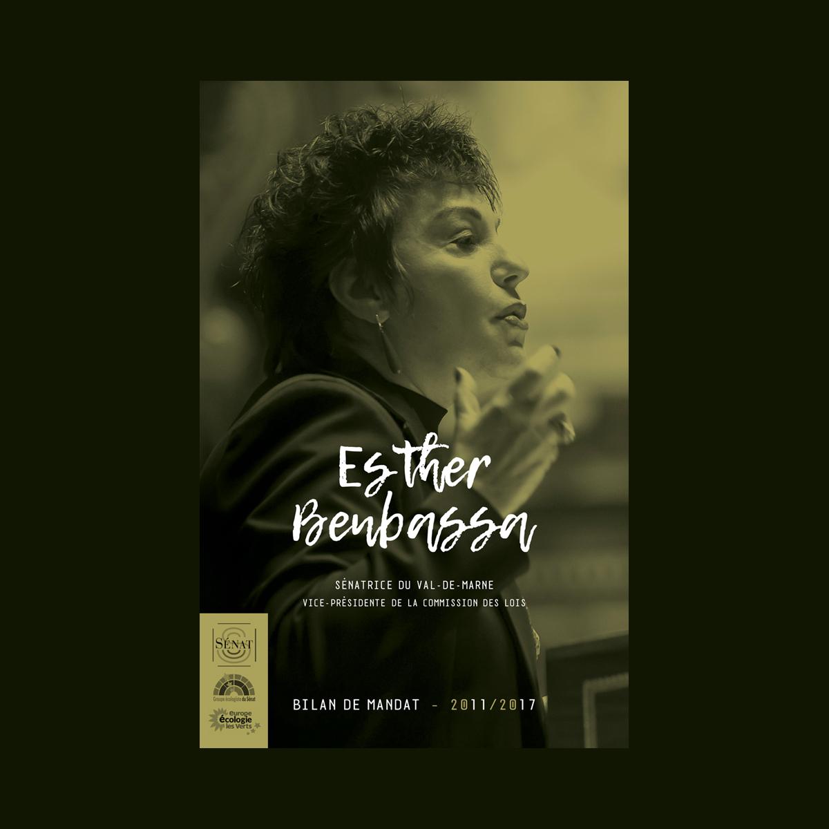 Plaquette Esther Benbassa