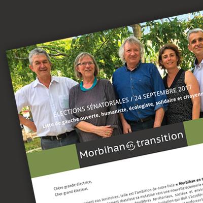 Liste «Morbihan en transition»