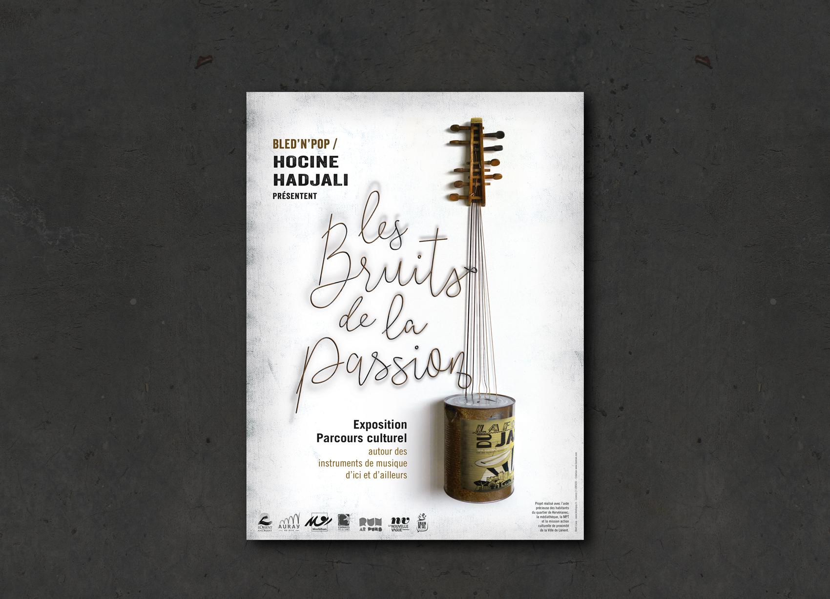Les bruits de la passion par Hocine Hadjali